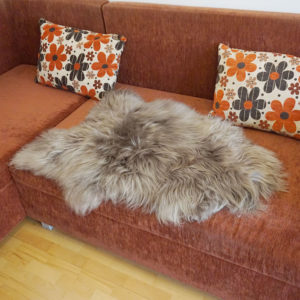 islandska siva ovcia kozusina
