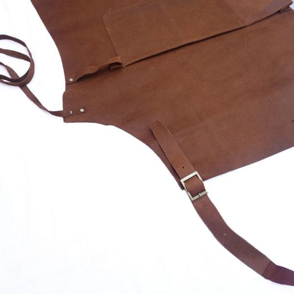 Barmanská kožená zástera