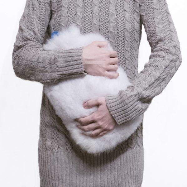 Kožušinový termofor / termofor z ovčej kožušiny