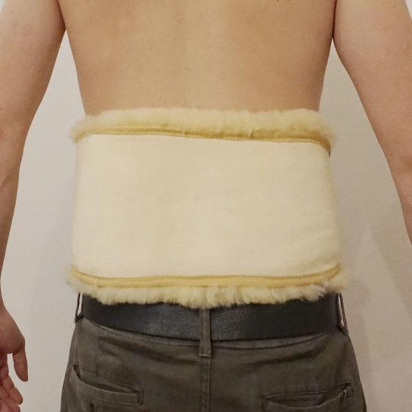 Kožušinový bedrový / obličkový pás