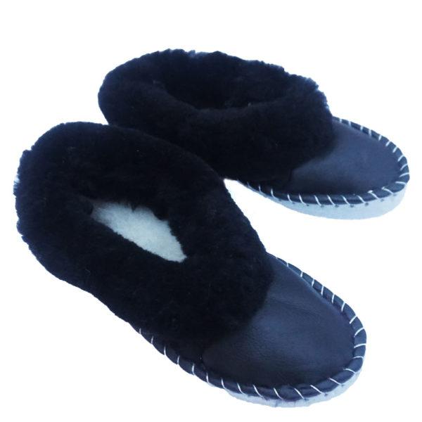 Kožušinové papuče – pánske