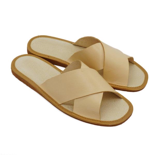 Pánske kožené papuče / šľapky